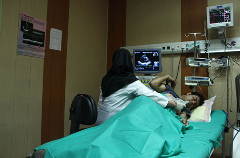 Echocardiography ward