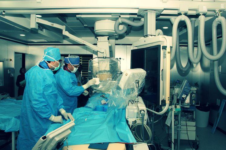 راه اندازی بخش مداخلالت (اینترونشن) عروق پریفرال و اندوواسکولار مرکز قلب و عروق شهیدرجایی