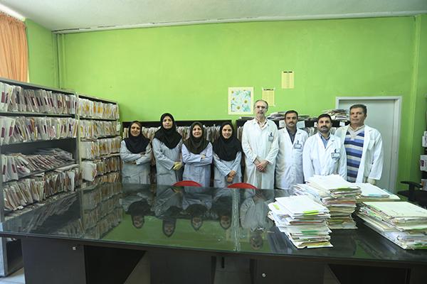 آشنایی با خدمات ادراه پذیرش ومدارک پزشکی مرکز قلب وعروق شهید رجایی