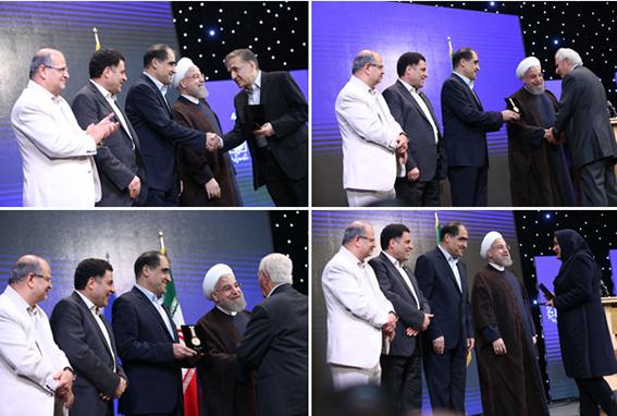 تقدیر رئیس جمهور از دکتر مجید ملکی بعنوان پزشک نمونه کشوری ،افتخاری دیگر برای مرکز قلب و عروق شهید رجایی