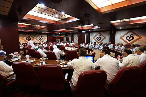 برگزاری جلسه کمیته مورتالیتی مورخ یکم شهریورماه سال جاری در مرکز قلب و عروق شهید رجایی