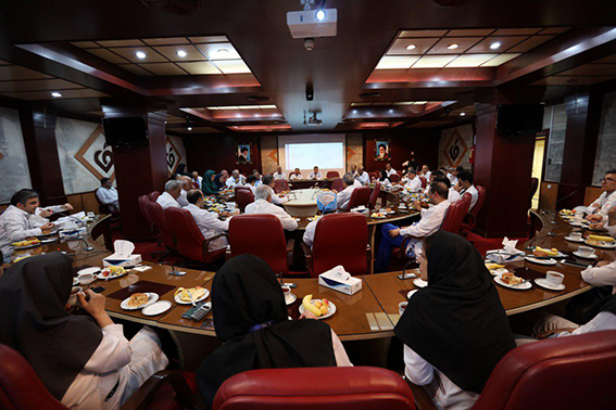 برگزاری جلسه کمیته مورتالیتی مورخ 26 تیرماه سال جاری در مرکز قلب و عروق شهید رجایی